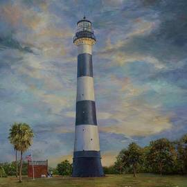 AnnaJo Vahle - Armadillo and lighthouse