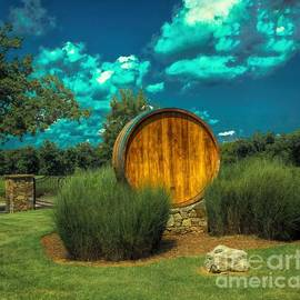 Luther Fine Art - Arrington Vineyards Barrel