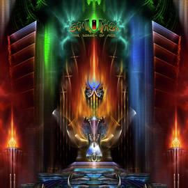 Xzendor7 - Arsencia Goddess Of Fire Fractal Composition