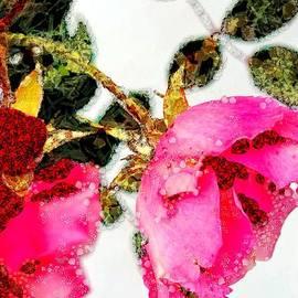 Catherine Lott - Art Dangling Rose In Asgelmint