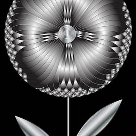 Art Deco Blooming 1 by Cecely Bloom