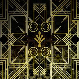 Art Deco Circuit by Ashley Wann