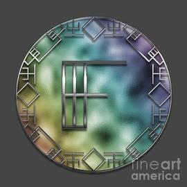 Mary Machare - Art Deco Monogram - F