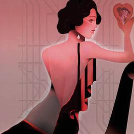 Jeff Burgess - Art Deco Valentine Greeting