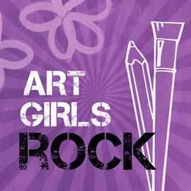 Art Girls Rock by Linda Woods