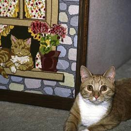 Art Imitates Life by Sally Weigand