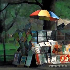 Art in the Park - Central Park New York by Miriam Danar