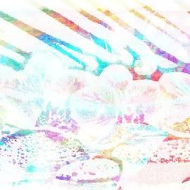 Catherine Lott - Art Light Painting on Light Background