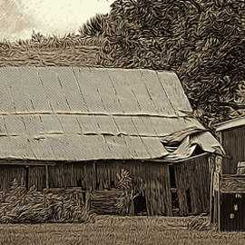 William Sturgell - Artistic Barn and Sheds in Sepia