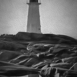 Artistic Scene Of Lighthouse At Peggys Cove by Dan Friend