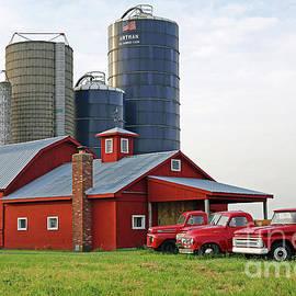 Artman Farm, Big Springs, Indiana by Steve Gass