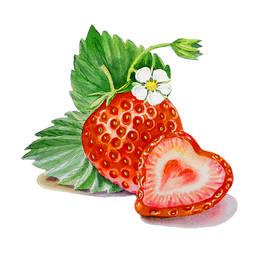 Irina Sztukowski - ArtZ Vitamins A Strawberry Heart