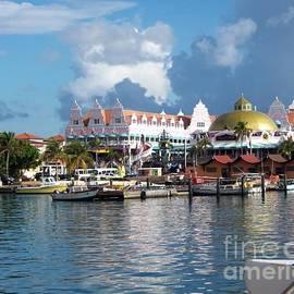 Aruba marina by Charlene Cox