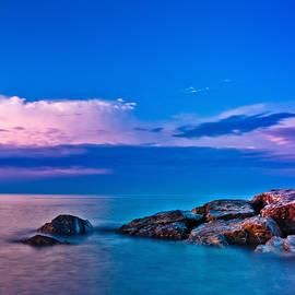 Brian Carson - Ashbridges Bay Toronto Canada Sunrise No 1