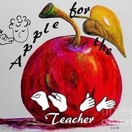 Eloise Schneider - ASL Apple for the Teacher