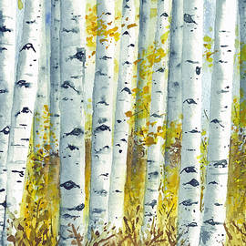 Corinne Aelbers - Aspens in Autumn