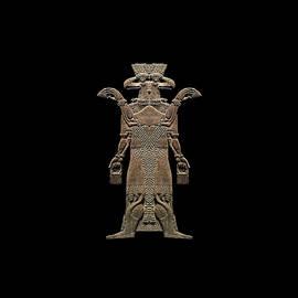 Nicholas Romano - Assyrian Protective Spirit Double Image
