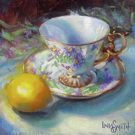 Linda Smith - Aster Teacup