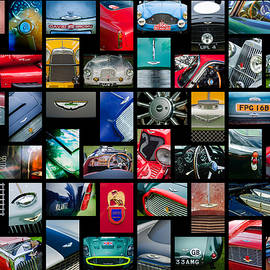 Aston Martin Art -01 by Jill Reger