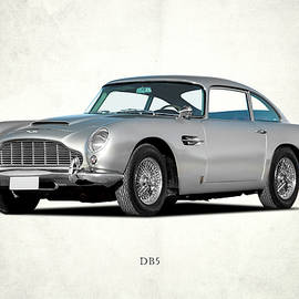 Aston Martin DB5 by Mark Rogan