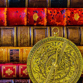Astrolabe And Old Books - Garry Gay