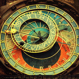 Jenny Rainbow - Astronomical Clock. Prague