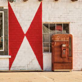 Coke Machine At the Bent Door Cafe by Jurgen Lorenzen