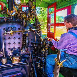Garry Gay - At The Controls Of Steam Engine No 3