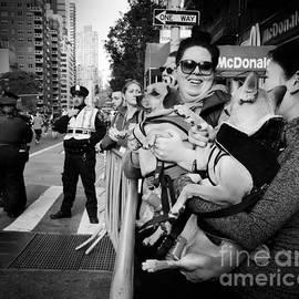Miriam Danar - At the Marathon - New York City