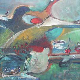 At The Sea Shore by Katerina Stamatelos