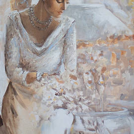 Vali Irina Ciobanu - At the window