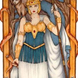 Athena Goddess by Sara Tan