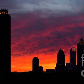 Reid Callaway - Atlanta Ablaze Midtown Atlanta Sunrise Art
