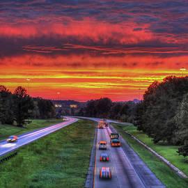 Reid Callaway - Atlanta Burning Georgia Sunset Art