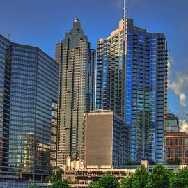 Reid Callaway - Atlanta Downtown Skyline Reflections