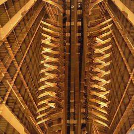 Atlanta Hotel Abstract by Thomas Carroll