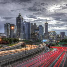 Reid Callaway - Atlanta Lights Up Downtown I-75 I-85