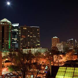 Atlanta Skyline At Night by Jill Lang
