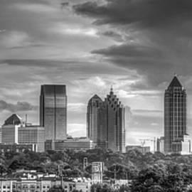 Atlanta Sunset Panorama 2 Cityscape Art by Reid Callaway