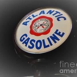 Barbie Corbett-Newmin - Atlantic Gasoline Gas Pump Sign