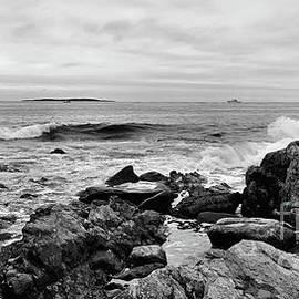 Sandra Huston - Atlantic Ocean in Black and White