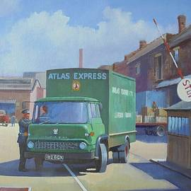 Atlas Express Bedford. - Mike Jeffries
