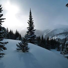 Cascade Colors - Atmospheric Winter Mountain Morning