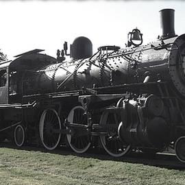 Atsf 2-6-2 Locomotive 1079 Diminished by David Dunham
