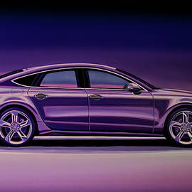 Audi RS7 2013 Painting by Paul Meijering
