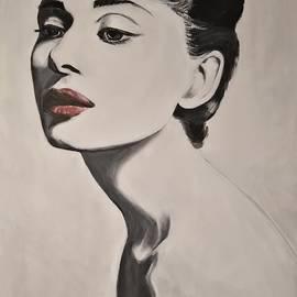 Audrey Hepburn by Lamei Lepschy Bian