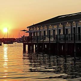 August Sunset in Newport, RI by Lyuba Filatova