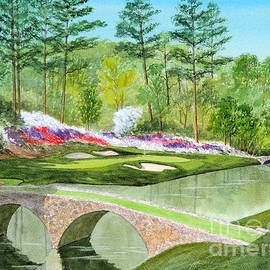 Bill Holkham - Augusta National Golf Course 12th Hole