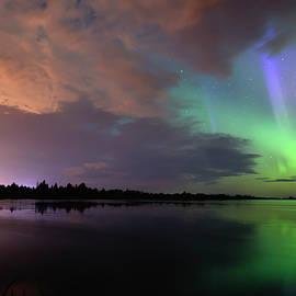 Aurora and Storm Clouds - Dan Jurak