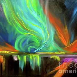 Aurora Borealis by Jenny Lee